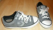 Unisex CONVERSE CONS Grey Suede Lace Up Trainers - Size UK 2