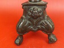 Pied de Lampe, Bougeoir en Bronze de style Haute Epoque, Moyen Age. Belgique