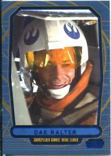Star Wars Galactic Files Blue Parallel #146 Dak Ralter