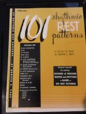 101 Rhythmic REST Patterns In Unison for Band by Grover C. Yaus for String Bass