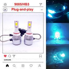 2020 NEW 9005 HB3 LED Headlights Bulbs Kit Genuine Lamp 80W 7500LM 8000K Blue