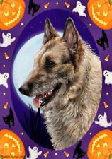 Belgian Laekenois Halloween Howls Flag