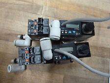 Lot Of 2x Smc Zse3 0x 21 Vacuum Switch With Vj114 Q 35