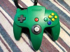 Original Nintendo 64 N64 Green Controller 8/10 NUS-005 original stick