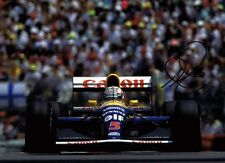 NIGEL MANSELL Red 5 SIGNED Autograph British Racing Legend 16x12 Photo AFTAL COA