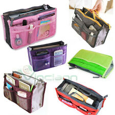 Borsa multi tasche BAG in BAG oggetti make up viaggio divisore organizer donna