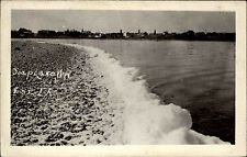 Estados unidos vintage Postcard with United States Stamp 1939 SOAP Lake photo-View Card