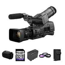 Sony NEX-EA50UH Camcorder w/ 18-200mm Lens + 2 Batteries, Filters + More