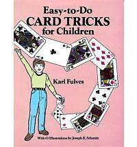 Easy to Do Card Tricks for Children by Karl Fulves (Paperback, 1989)