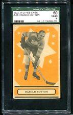 1933 O-Pee-Chee OPC V304A HAROLD COTTON #35 RC Rookie Card    SGC 50 VG-EX 4