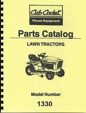 Cub Cadet 1330 Parts Manual