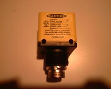 BANNER OPBA2QD NNB missing retaining nut and washer