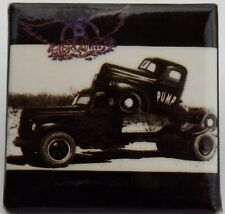 AEROSMITH Bomba Vintage 80/90 `S cuadrado pin / Insignia PROMO (No Parche LP CD