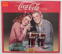 Coca-Cola 2005 Calendar - NIP  FREE SHIPPING