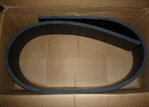 Schürfleiste, Gummi SBR, 70°Shore, 150x 30 mm.