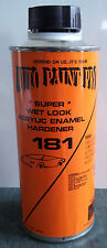 AUTO BODY SHOP PAINT SUPPLIES ACRYLIC ENAMEL WET LOOK HARDENER CAR PAINT RESTORE