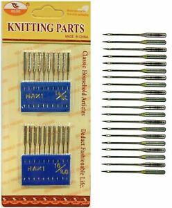 Sewing Machine Needles Knitting - UNIVERSAL 14/100 16/100 Fits All Brands - UK