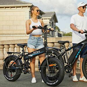 20 Zoll E-bike Mountainbike Elektrofahrrad 500W / 48V Klapprad Fat Tire EFahrrad