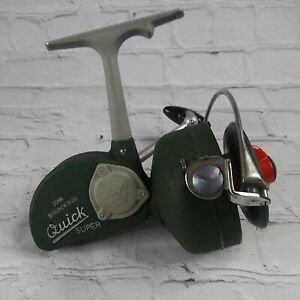 """D.A.M. QUICK """"SUPER"""" SPINNING REEL N0. 270 C. VERY NICE! AWESOME REEL MUSEUM"""