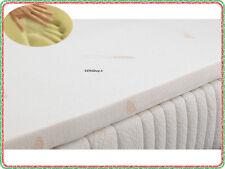 Topper in Memory Foam per Materasso Singolo mis. 80x190 in Tessuto COOLMAX®