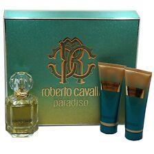 ROBERTO CAVALLI PARADISO 3PC GIFT SET EAU DE PARFUM SPRAY 75ML (NIB-777040)