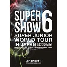 SUPER JUNIOR-SUPER JUNIOR WORLD TOUR SUPER SHOW6 IN JAPAN-JAPAN 2 DVD Japan