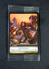 (8) World of Warcraft WoW TCG Diplomacy Dark Portal Promo Extended Art Uncommon