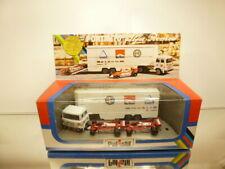 POLISTIL RJ110 CAR TRANSPORTER + 2x ALFA ROMEO F1 CARS - GOOD IN very rare BOX