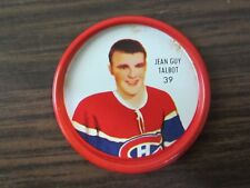 1962-63 Shirriff metal coin # 39 Jean Guy Talbot (B23) Montreal Canadiens
