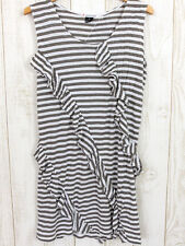 UNIQLO mint designs collababoration Dress Boho Tunic Stripes Frills Japanese