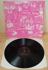 LP WELLS FARGO Lost highway (Razzo Dischi 89) Italian indie rock VG+