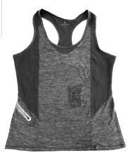 Athleta Womens Forerunner Tank - Grey Heather Size L Zumba  sportswear yoga run