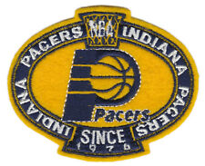 "INDIANA PACERS NBA BASKETBALL SINCE 1976 3.25"" TEAM LOGO PATCH"