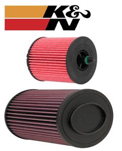 K&N FILTER SERVICE KIT FOR ALFA ROMEO 159 939 939A5 2.2L I4
