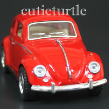 Kinsmart 1967 Classic VW Volkswagen Beetle Bug 1:32 Diecast Toy Car Red