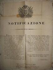 R239-TOSCANA-1844 CORSO DI POSTA PRATO-LASTRA A SIGNA