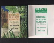 Excursions in Modern Mathematics with Test Item File Bundle 2000 0130314846