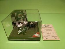 QUARTZO BRABHAM BT-49C WORLD CHAMPION 1981 F1 NELSON PIQUET - GREEN 1:43 - NMIB