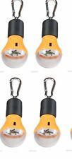 (5)1 Watt LED Lightbulb Carabiner Compact Light Tent Ceiling Camping Hiking Bulb