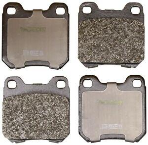 Disc Brake Pad Set-Total Solution Semi-Metallic Brake Pads Rear Monroe DX709