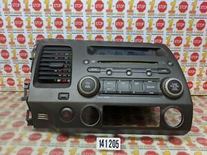 2006-2011 HONDA CIVIC SEDAN AM/FM RADIO DISC CD PLAYER 39101-SNA-A030 OEM