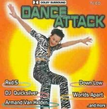 Dance Attack (1997, #zyx55073) Worlds Apart, Red5, Dj Bobo, Dj Paul Elsta.. [CD]