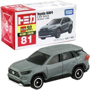 Takara Tomy Tomica No.81 Toyota RAV4 1/66 Mini Diecast Toy Car