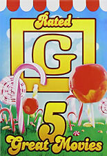 5 Great Movies: Rated G (DVD, 2014) * BRAND NEW DVD NEW *