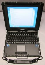"GETAC V100 10.4"" TOUCH RUGGED NOTEBOOK, I7-640UM,320GB,4GB,WIFI,WIN7 PRO - NICE!"