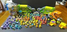 The Trash Pack Trashies Lot of 154 Trashies 2 Garbage Truck Garbage Can UFT Can