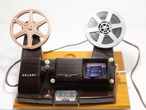 Vintage Minty working Kalart 8mm Film Movie Editor Viewer Eight OB NO~RESERVE