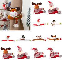 Christmas Cartoon Doll Curtain Buckle Holders Creative Clip Buckle Home Decor
