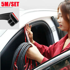5M L Shape Car Door Hood Trunk Trim Edge Moulding Rubber Weatherstrip For Car