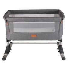 Venture Hush Side Sleeping Crib - Anthracite Grey